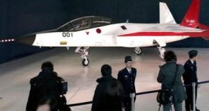 Япония показала свой первый самолет технологии СТЕЛС