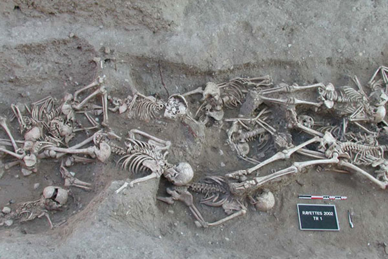 Останки жертв Марсельской чумы