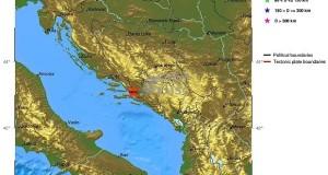 Землетрясение с магнитудой 4,4 балла в Хорватии