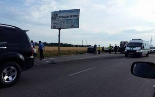 На трассе Одесса-Черноморск погибла молодая женщина