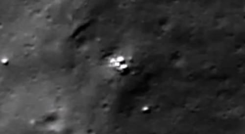 В июле 2016 обнаружены доказательства существования базы пришельцев на Луне